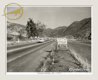 Conejo Grade, CA Circa 1957 Photo No. 7300