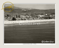 Carpinteria, CA Circa 1956 Photo No. 6156
