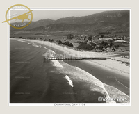 Carpinteria, CA Circa 1956 Photo No. 6155